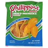 Philippine Brand Dried Mangoes, 3.53-Ounce Bags