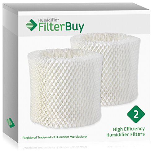 2 - WF2 Kaz & Vicks Replacement Humidifier Wick Filters. Designed by FilterBuy in the USA. ()