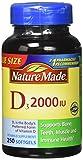 Cheap Nature Made, Vitamin D3 2,000 I.U. Liquid Softgels, 250-Count (Pack of 3)
