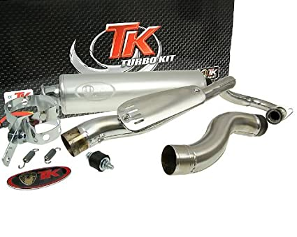 Turbo Kit Quad/ATV Tubo de escape para Kymco Mxu 150, Mxer 150