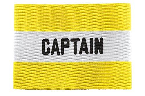 Kwik Goal Adult Captain Arm Band, Yellow