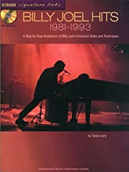 FABER MUSIC JOEL BILLY - HITS 1981-1993 + CD - PVG Sheet music pop, rock Piano voice guitar