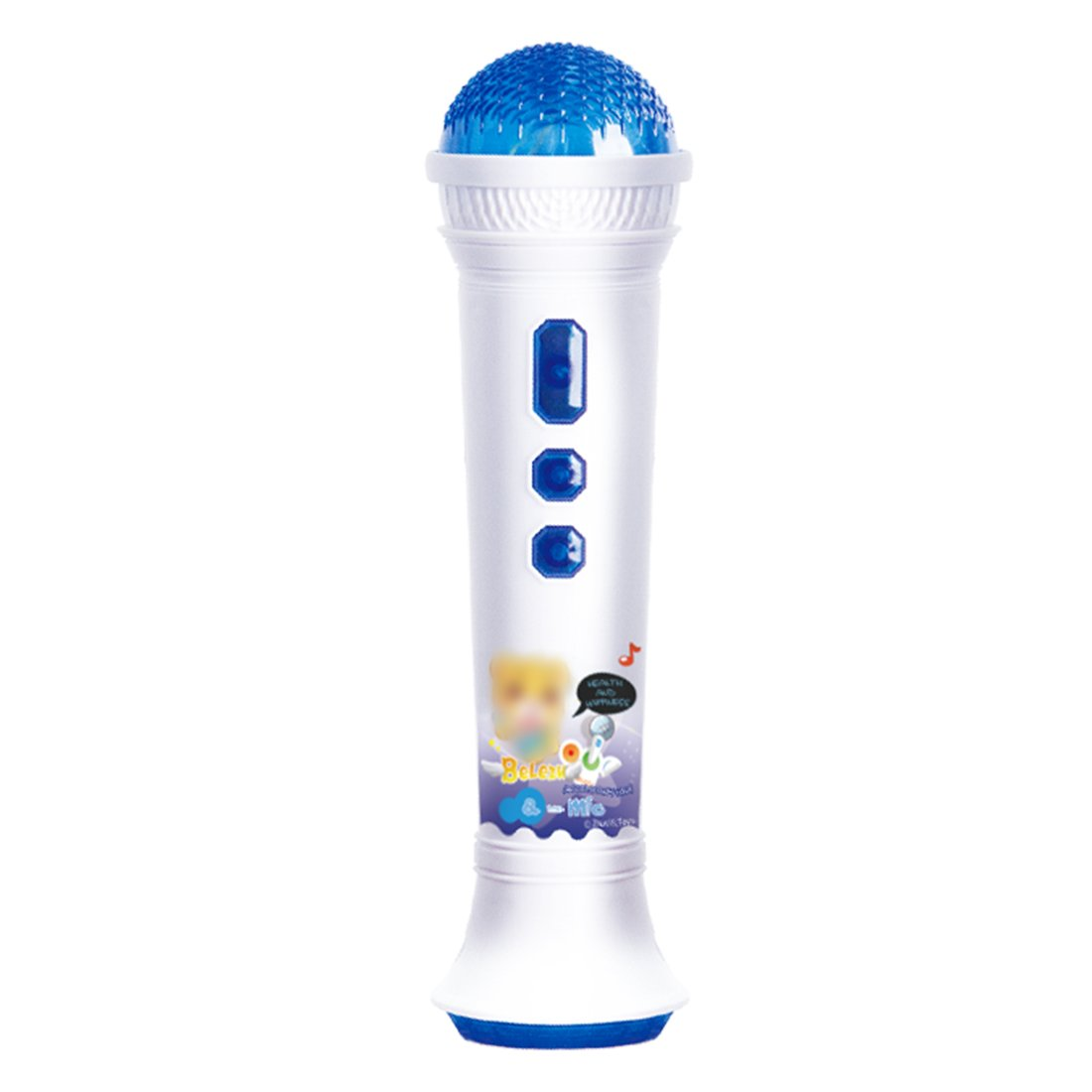 FutureShapers Kids Microphone Toy Music PlayerKaraoke Electric Instrument with 2 Entertainment Modes
