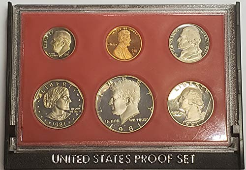 (1981 S Clad Proof Set Type 2 Coins Original Mint Packaging)