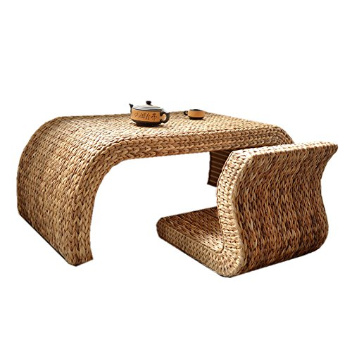Amazoncom GRAS Long Simple Handmade Brown Banana Leaf Coffee Table - Banana leaf coffee table