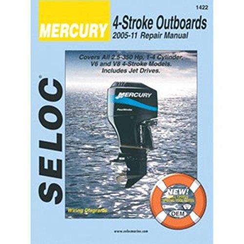 SELOC SERVICE MANUAL MERCURY & MARINER ALL 4-STROKE 2005-11 2005 Mercury Outboard