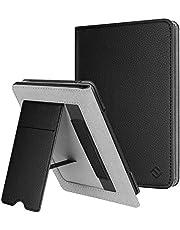 Fintie Etui kompatybilne z Kindle Paperwhite (10. generacji – 2018 / wszystkie generacje) – etui ochronne z przegródką na karty, szlufką na rękę i funkcją automatycznego uśpienia/budzenia w stylu, czarny