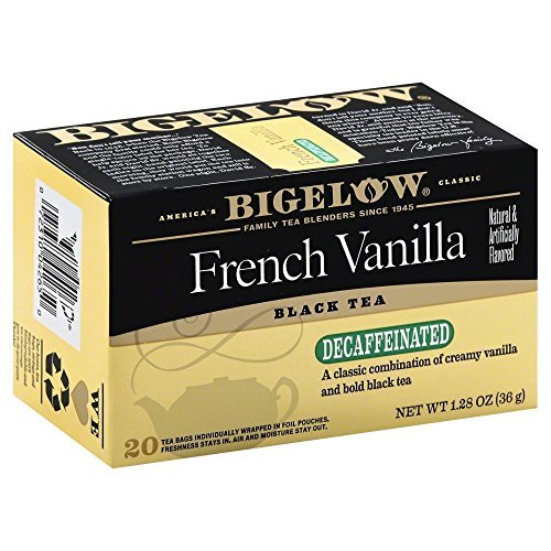 (Bigelow French Vanilla Decaf Tea 1.28 OZ(Pack of 2))