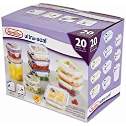 Sterilite Ultra-Seal 20 Piece Set (multi) (12H x 7.875W x 10D)