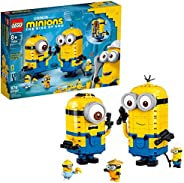 LEGO Minions: Brick-Built Minions and Their Lair (75551) Building Kit for Kids, Great Birthday Present for Kid
