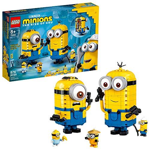 🥇 LEGO Minions: Brick-Built Minions and Their Lair