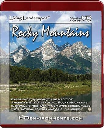 Amazon Com Living Landscapes Hd Rocky Mountains For Hd Dvd Players Only Living Landscapes Hd Environments Planet Earth Nature Window Michael Heumann Movies Tv