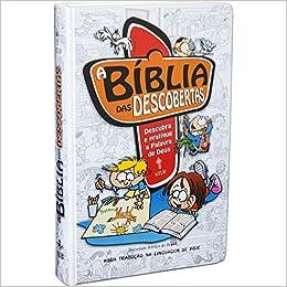 A Bíblia das Descobertas - Capa ilustrada azul: Nova Tradução na Linguagem de Hoje (NTLH)