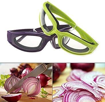 Majome Gafas Protectoras para la Cebolla Protector Ocular Evitar Las l/ágrimas Cortar Gafas antipicosas Aparato de Cocina
