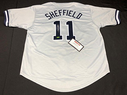Jersey Sheffield Gary Autographed (Signed Gary Sheffield Jersey - 7676476 - Tristar Productions Certified - Autographed MLB Jerseys)