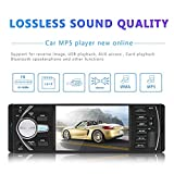 XDOBO Car Radio Audio Stereo 4.1 Inch Touch Screen HD TFT Mp5 Mp3 Mp4 RDS USB TF Aux In Player with Remote Control Support Rear View Camera Bluetooth Hands Free Speaking - 4022D