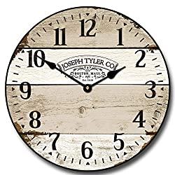 Vintage Barnwood Wall Clock, Available in 8 Sizes, Most Sizes Ship 2-3 Days,
