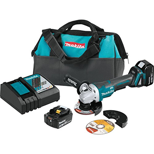 Makita XAG11T 18V LXT Lithium-Ion Brushless Cordless 4-1/2