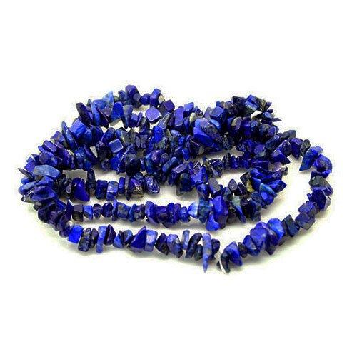 Chip Blue Lapis Lazuli (Long Strand Of 240+ Blue Lapis Lazuli 5-8mm Chip Beads - (GS3196) - Charming Beads)