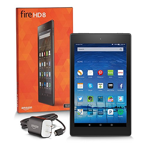 Fire HD 8, 8″ HD Display, Wi-Fi, 8 GB – Includes Special Offers, Black