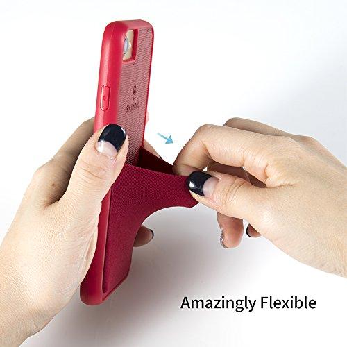 Funda para iPhone 7 / iPhone 8 con soporte para tarjeta, funda para tarjeta Sinjimoru para iPhone 7 / iPhone 8 con billetera para tarjetas. Sinji Pouch Case para iPhone 7 / iPhone 8, Nero. negro