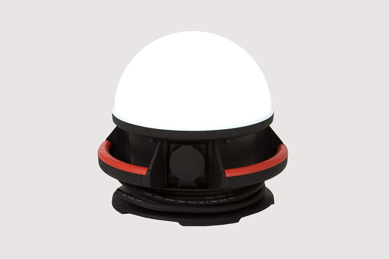 Proyector portátil de Obra LED 50 W Tipo Dome – 5 m de Cable ...