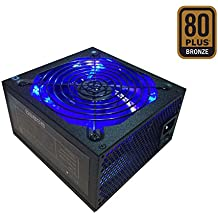 Apevia ATX-JP800 Jupiter 800W 80 Plus Bronze Certified Active PFC ATX Gaming Power Supply, Supports Dual/Quad Core CPUs, SLI/Crossfire/Haswell