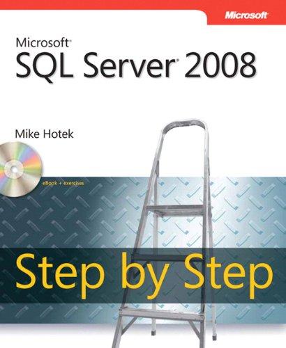 Microsoft® SQL Server® 2008 Step by Step (Step by Step Developer) (Sql Server 2008 Developer compare prices)