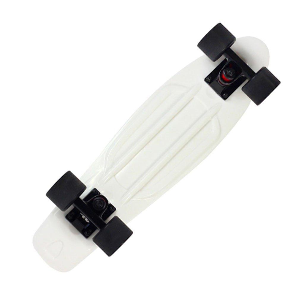 【海外輸入】 ドリフトボードフリーラインスケートフラッシュアダルトチルドレンプロフェッショナルスケートボーダートラベルサイレント4輪ダイナミックボード(1P) B07FRVFPG7 B07FRVFPG7 White White White, 生活セレクトショップトレフール:373b69c7 --- a0267596.xsph.ru