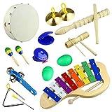 Tera Juguetes de instrumentos musicales para niño 10 in 1