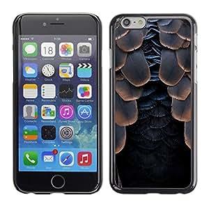 All Phone Most Case / Hard PC Metal piece Shell Slim Cover Protective Case Carcasa Funda Caso de protección para Apple Iphone 6 Plus 5.5 bird feathers raven black Halloween