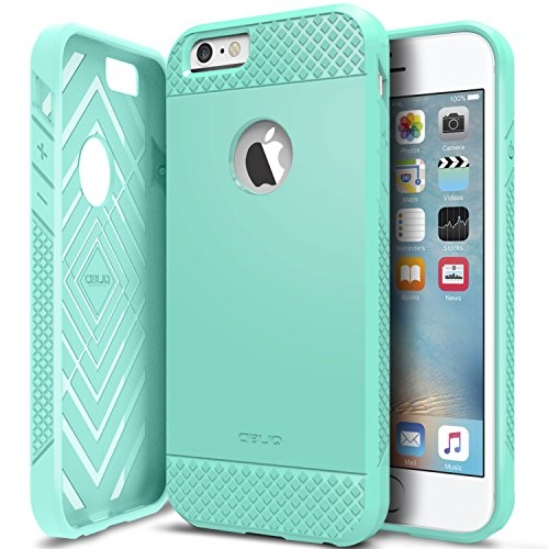 Price comparison product image iPhone 6/6S Case, OBLIQ [Flex Pro][Mint] Thin Slim Fit Armor Sturdy Bumper TPU Rubber Soft Flexible Shock Scratch Resist Protective Case for iPhone 6s (2015) & iPhone 6 (2014)
