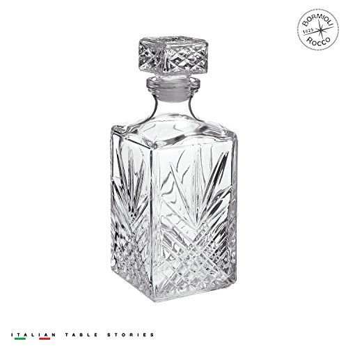 Bormioli Rocco 228450G04021877 Selecta 33-3/4-Ounce Decanter with (Scotch Bottle)