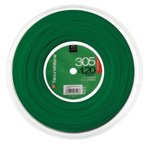 Tecnifibre 305 SPL Squash String Reel 1.20 - Green
