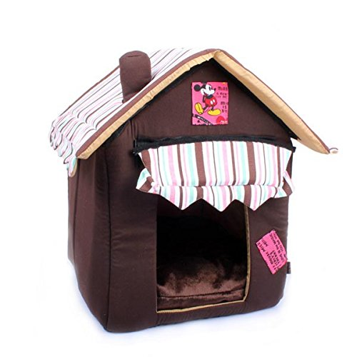 Soft Cozy Luxury Chocolate Tent House