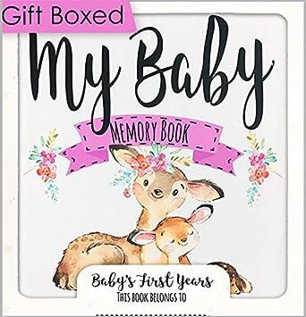 Amazon Baby Memory Book For Girls Babys Memory Book Baby