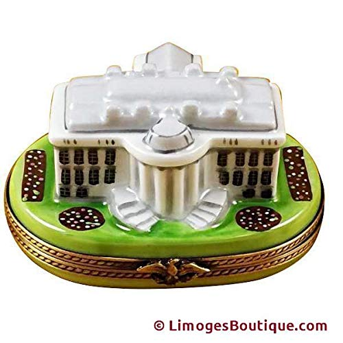 White House - French Limoges Boxes - Porcelain Figurines Collectible Gifts