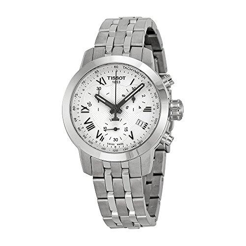 Tissot-Womens-Swiss-Quartz-Stainless-Steel-Quartz-Watch-ColorSilver-Toned-Model-T0552171103300