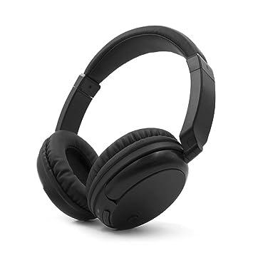 Docooler Auriculares inalámbricos de FM Auriculares inalámbricos Over-Ear Receptor Transmisor AUX 3.5mm y