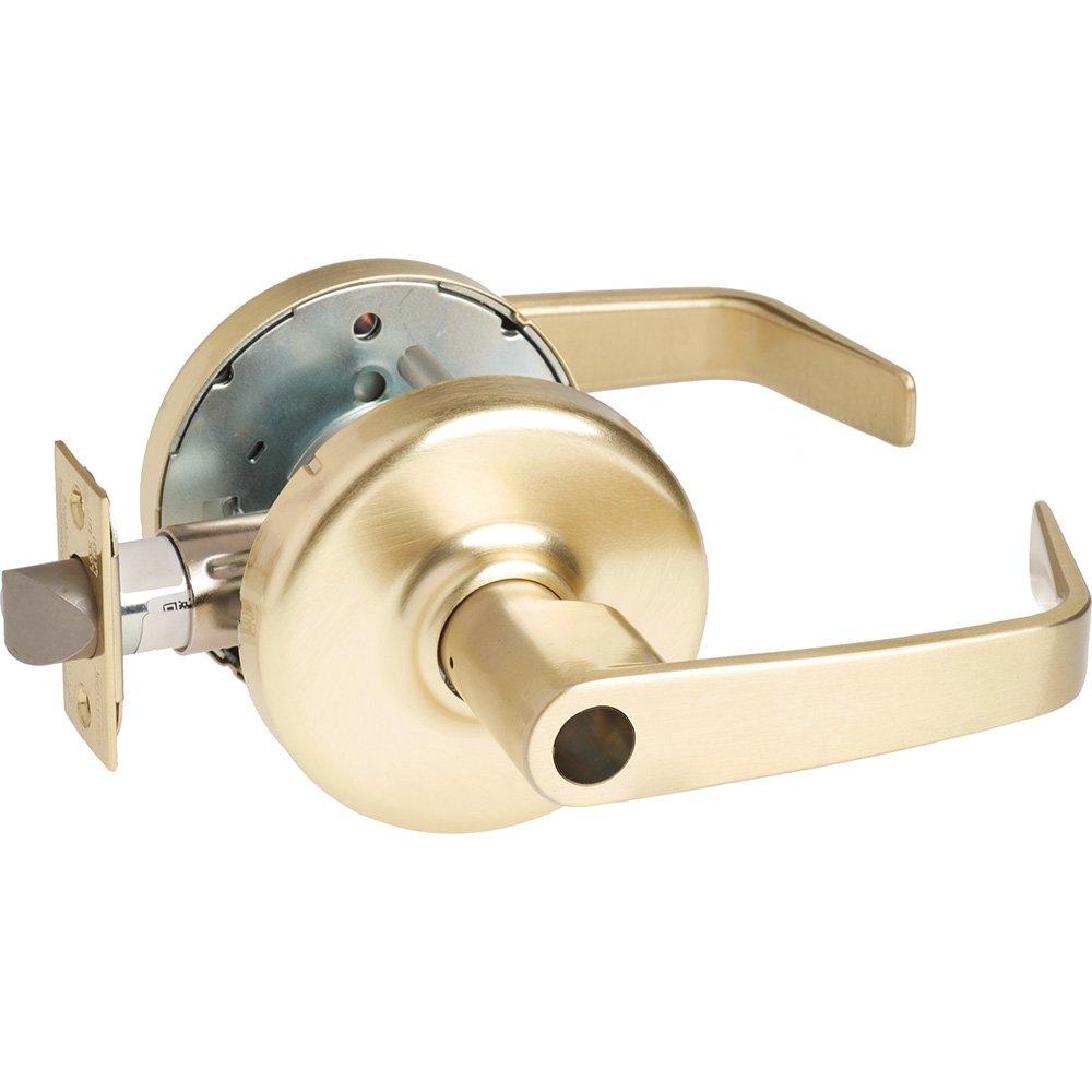 Steel//Zinc//Brass 2-3//4 Backset Non Handed 2-3//4 Backset Corbin Russwin CL3557-NZD-606-LC Grade 1 Storeroom 606 Satin