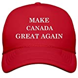 FUNNYSHIRTS.ORG Make Canada Great Again: Film and Foil Solid Color Snapback Trucker