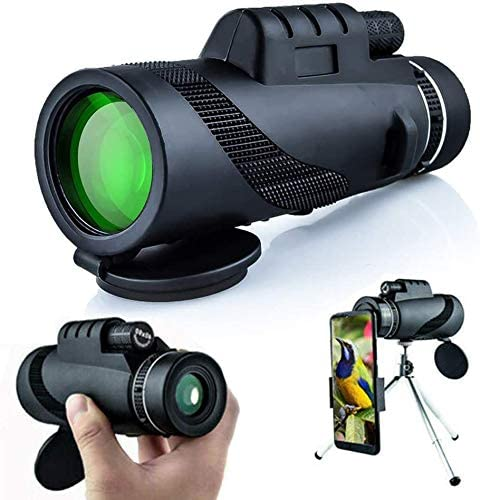 beschlagfreies wasserdichtes Monokular mit Smartphone-Halter Y DWAYNE 4K 10-300X40mm Super-Telezoom-Monokular-Teleskop f/ür Vogelbeobachtung//Jagd//Reisen//Wandern//Camping