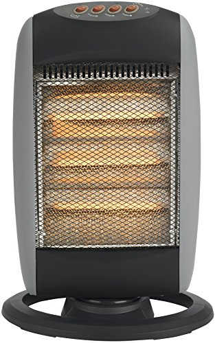 Status Portable Halogen Heater Oscillating 1600w / 1200w