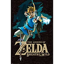 Legend of Zelda Breath of The Wild Link With Bow Video Gaming Poster 24x36
