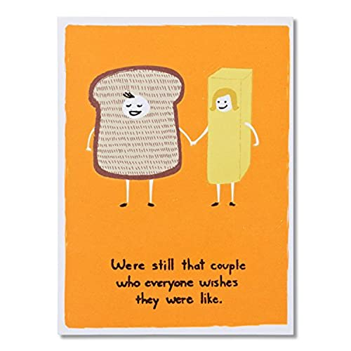 Funny anniversary cards amazon american greetings funny bread and butter anniversary card m4hsunfo