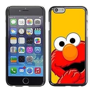 Stuss Case / Funda Carcasa protectora - DIVERTIDA - MOP ROJO - Apple Iphone 6 Plus 5.5