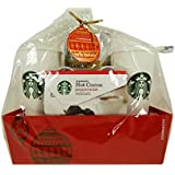 Starbucks Coffee and Cocoa for Two with Limited Edition Design Tall Mugs