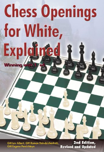 Chess Openings for White, Explained: Winning with 1.e4: 0 (Comprehensive Chess Course Series)