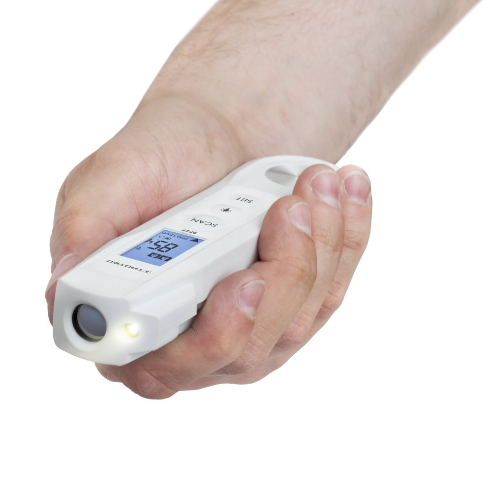 TROTEC BP2F Lebensmittel-Thermometer Haushaltsthermometer Einstichthermometer Grillthermometer