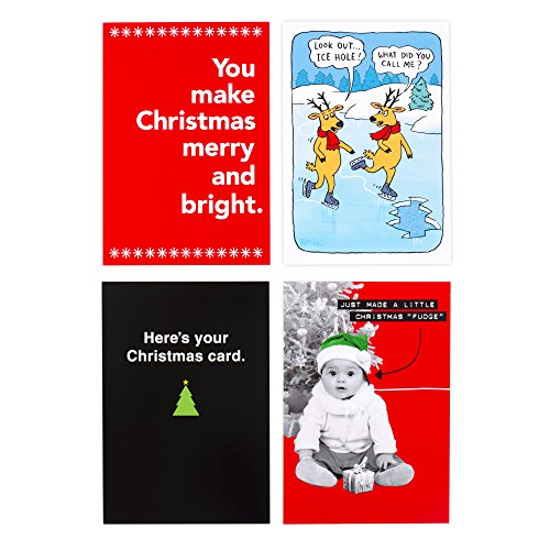 Hallmark Shoebox Christmas Boxed Cards Assortment (Funny Christmas Cards, 4 Card Designs, 24 Christmas Greeting Cards and 24 Envelopes) Photo #8